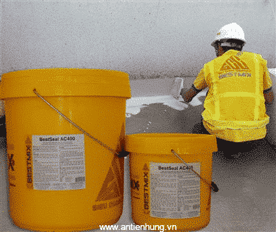 Sử dụng Bestseal AC400 chống thấm cho nhiều công trình