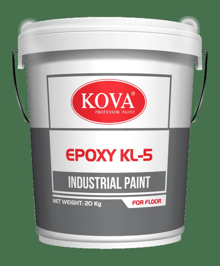 Sơn EPOXY KL-5 kháng khuẩn có bề mặt cứng, không độc hại, kháng khuẩn tốt