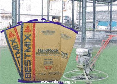 Hardrock là hardener dạng bột trộn sẵn, không kim loại, gốc vô cơ, được làm từ các hạt oxit silic