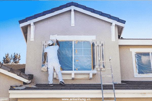 Ngôi nhà sẽ trở nên hoàn hảo hơn khi sử dụng sơn lót kháng kiềm cao cấp ngoài trời K209-gold