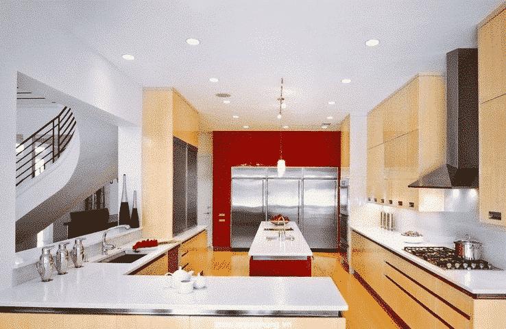 Ngôi nhà sẽ vô cùng sang trọng nhờ sơn không bóng trong nhà K260 - Gold