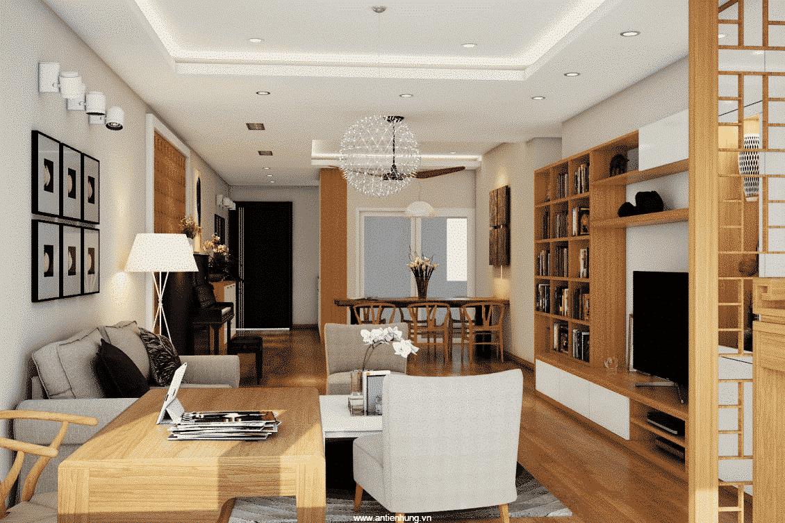 Sự hoàn hảo cho không gian nội thất nhà bạn - sơn không bóng trong nhà K771 - Gold
