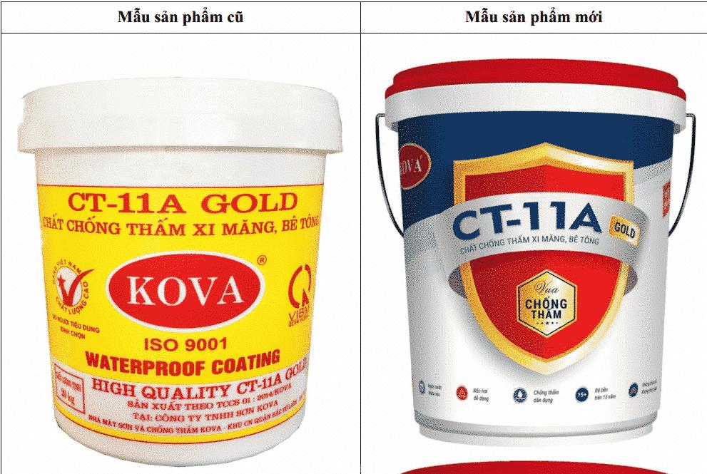 Hình ảnh sản phẩm sơn Kova Clear KL5-GOLD