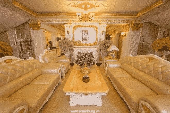 Công trình được hoàn thiện từ sản phẩm sơn của An Tiến Hưng