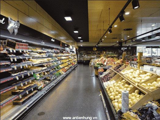 Hình ảnh siêu thị được sử dụng sơn chống cháy