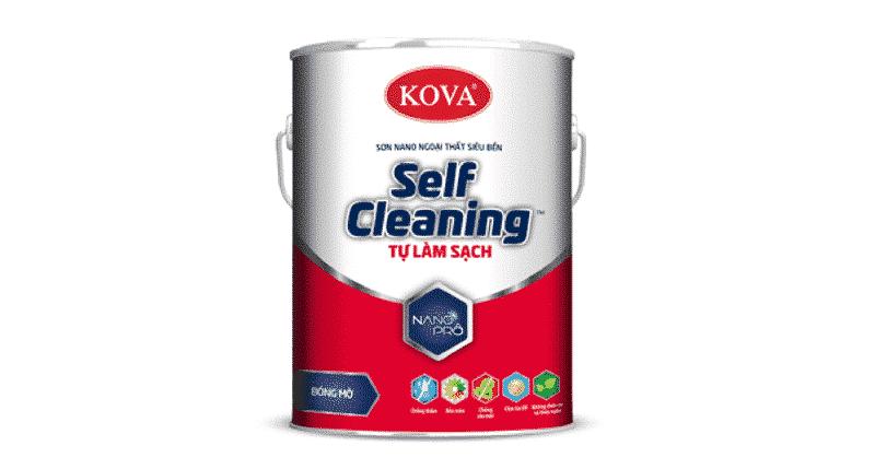 Hình ảnh sơn tự làm sạch Kova