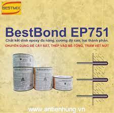 Sử dụng Bestbond EP751 khắc phục những vết nứt của bề mặt bê tông