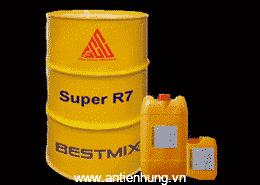 Phụ gia bê tông xi măng Super R7 - chất liệu của mọi công trình