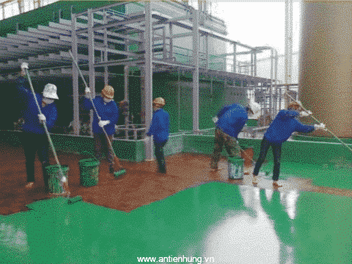 Sân bóng sẽ đẹp, bền và chắc chắn hơn khi sử dụng chất phủ đệm sân thể thao, sân tennis TNA-gold