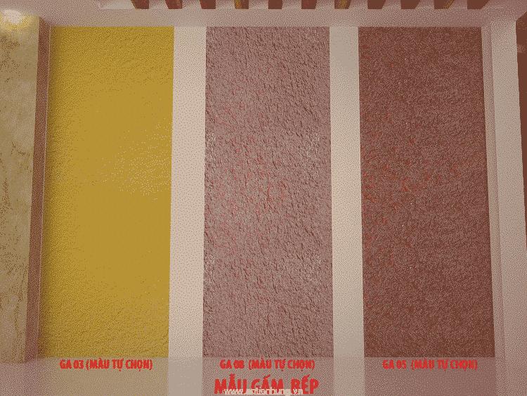 Các mẫu màu sơn TEXTRURE: sơn sần, sơn gai, sơn gấm