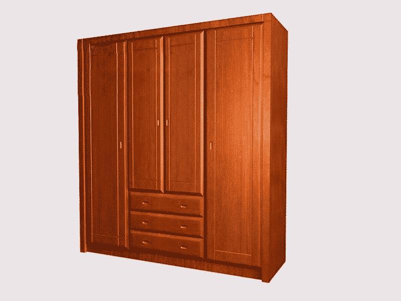 Hình ảnh tủ gỗ được sơn bóng bởi sẩn phẩm sơn van gỗ cao cấp W-3