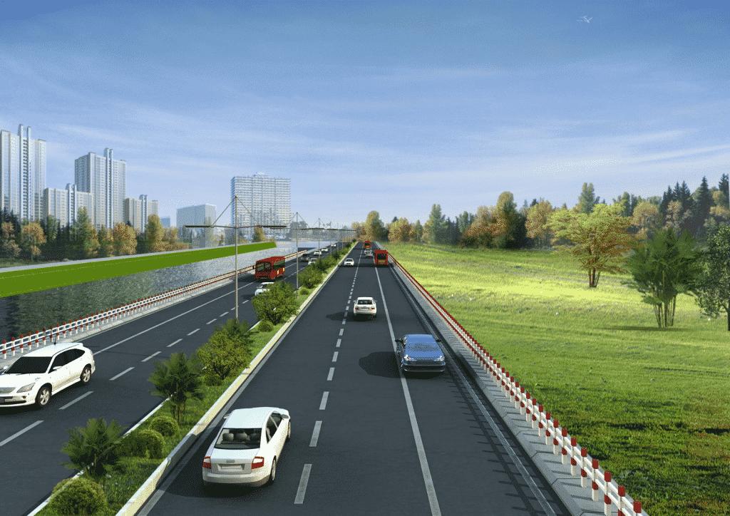Sản phẩm hạt phản quang T1 được sử dụng rộng rãi trong các công trình giao thông