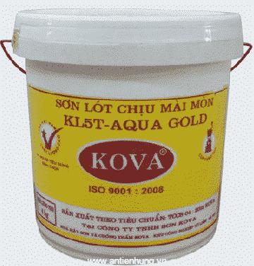 Sơn lót chịu mài mòn KL-5T-Aqua Gold là thế hệ sơn 3 thành phần với hệ KL-5T bán bóng tổng hợp