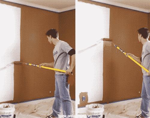 Sử dụng sơn lót chịu mài mòn Kl-5T-Aqua Gold cho ngôi nhà của bạn