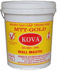 Matit trong nhà mtt - gold - chống ăn mòn, chống nấm mốc cho các công trình
