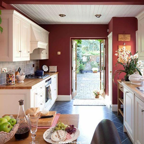 Căn bếp trở nên đẹp hơn nhờ sơn nippon Bilac Aluminium