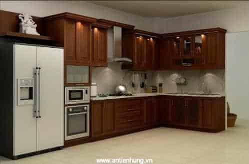Sự sang trọng của sơn nippon Bilac Aluminium Wood Primer mang lại cho căn bếp nhà bạn