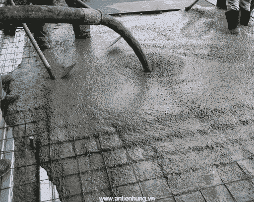 Sử dụng Super R7N để bê tông đạt chất lượng tốt
