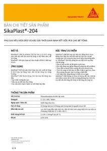 SikaPlast 204 H