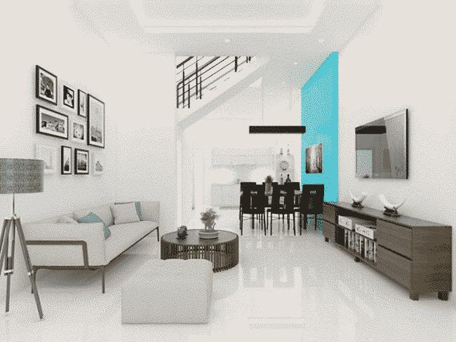 Sơn Nippon Matex Super White mang đến sự sang trọng cho phòng khách nhà bạn