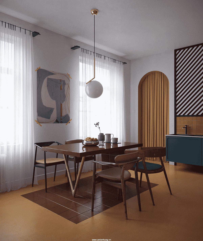 Sơn Odour-less Deluxe All-in-1 - không gian nội thất sang trọng