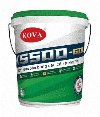 Sơn bán bóng cao cấp trong nhà K5500-Gold - sự lựa chọn hàng đầu cho ngôi nhà bạn