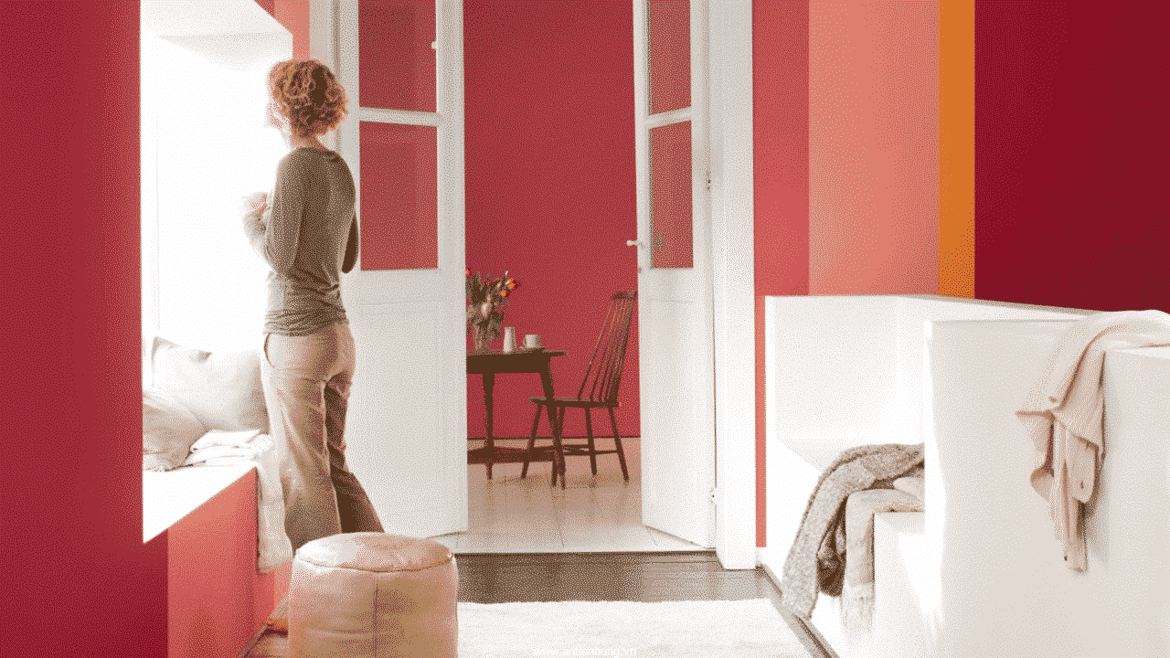 Sơn màu pha sẵn trong nhà K180 - Gold - sự tinh tế cho ngôi nhà của bạn