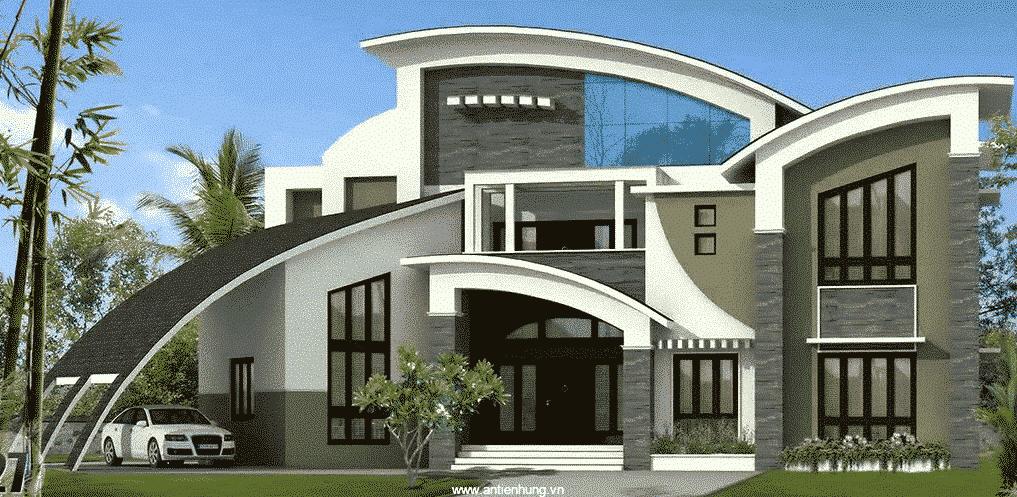 Ngôi nhà sẽ bền đẹp khi sử dụng sơn bóng cao cấp ngoài trời K360 - gold