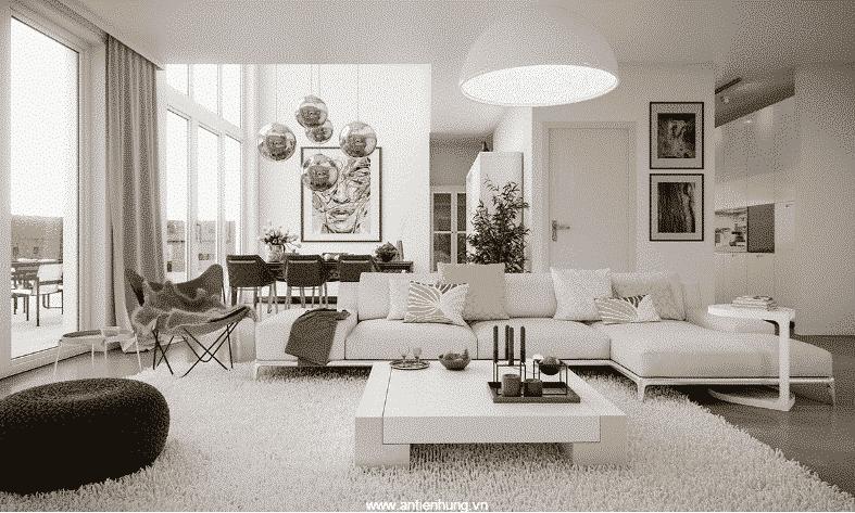 Sơn lót nội thất Matex Sealer mang lại sự sang trọng cho phòng khách