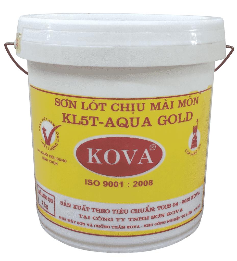 Hình ảnh sản phẩm sơn men phủ sàn KL5T-Gold