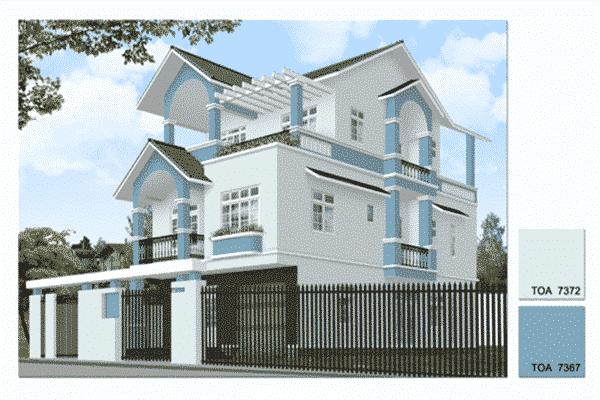Sơn ngoại thất skimcoat weathergard - mang lại vẻ đẹp cho ngôi nhà của bạn