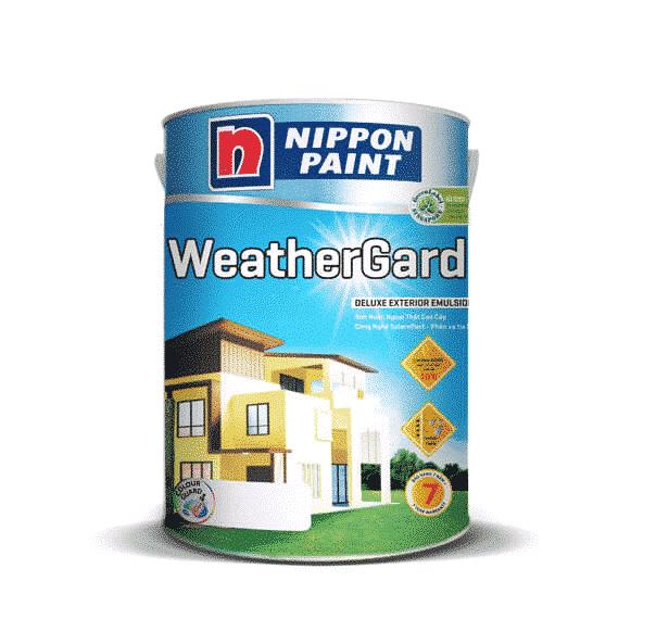 Lựa chọn dòng sản phẩm sơn ngoại thất weathergard của Nippon là biện pháp tối ưu bảo vệ tường nhà