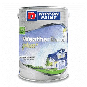 Hình ảnh sơn ngoại thất cao cấp và tiện dụng weathergard plus