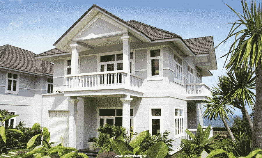 Sơn ngoại thất WeatherGard Sealer làm ngôi nhà trở nên sang trọng hơn