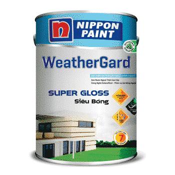 Sơn ngoại thất siêu bóng weathergard là loại sơn nước cao cấp