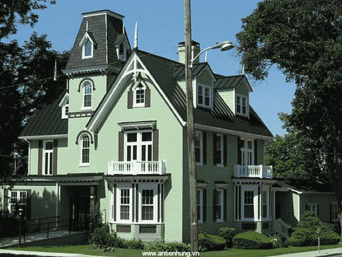 Sơn ngoại thất có tác dụng rất lớn trong việc bảo vệ cho ngôi nhà của bạn