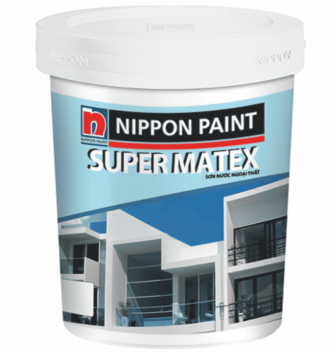 Hình ảnh sơn ngoại thất Super matex sealer