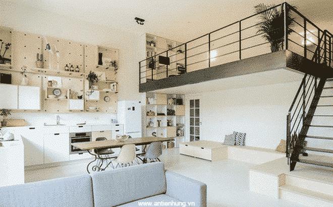 Không gian ngôi nhà trở nên rất sang trọng nhờ sơn nippon