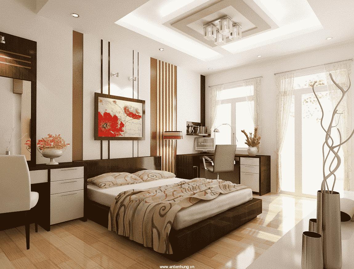 Sơn nội thất Nippon Paint Texkote giúp căn phòng sang trọng hơn