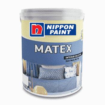 Hình ảnh sơn nội thất cao cấp nippon matex
