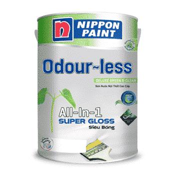 Sơn nội thất cao cấp odour-less all-in-1 siêu bóng