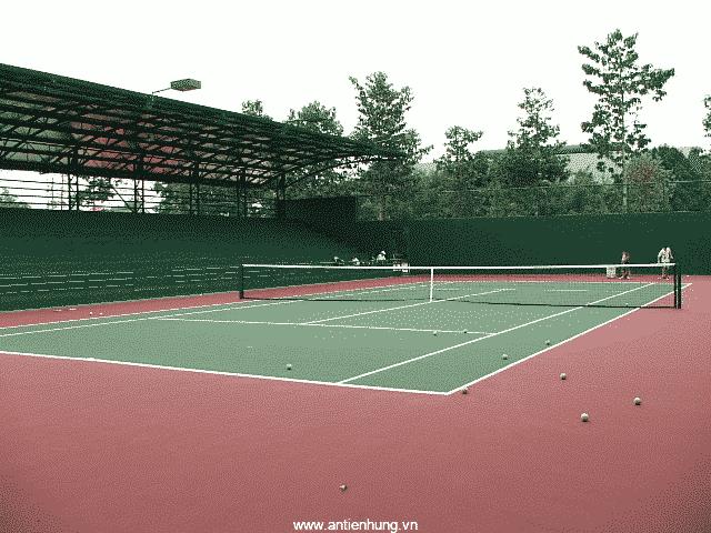 Sơn sân tennis, sân thể thao đa năng CT 08- Gold hệ nước, không chứa bất cứ chất độc hại nào đối với môi trường và sức khỏe con người