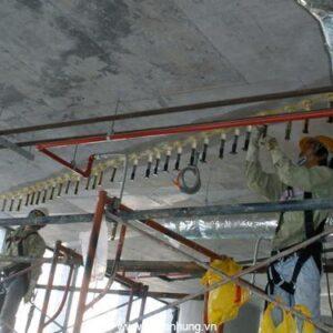 Xử lý nứt trần bằng keo epoxy 2 thành phần SL 1400
