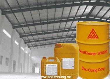 Sản phẩm hợp chất tẩy rửa dầu mỡ BestCleaner SH020