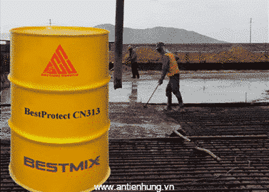 Phụ gia ức chế ăn mòn cốt thép cho bê tông Bestprotect CN313