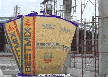 BestRepair CE400 có màu xám xi măng và tồn tại ở dạng bột khô
