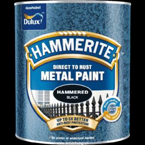 Sơn kim loại số 1 thế giới Hammerite Direct To Rust SP