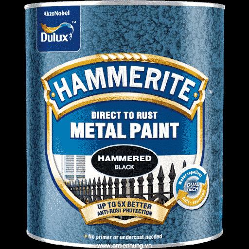Sơn kim loại số 1 thế giới Hammerite Direct To Rust