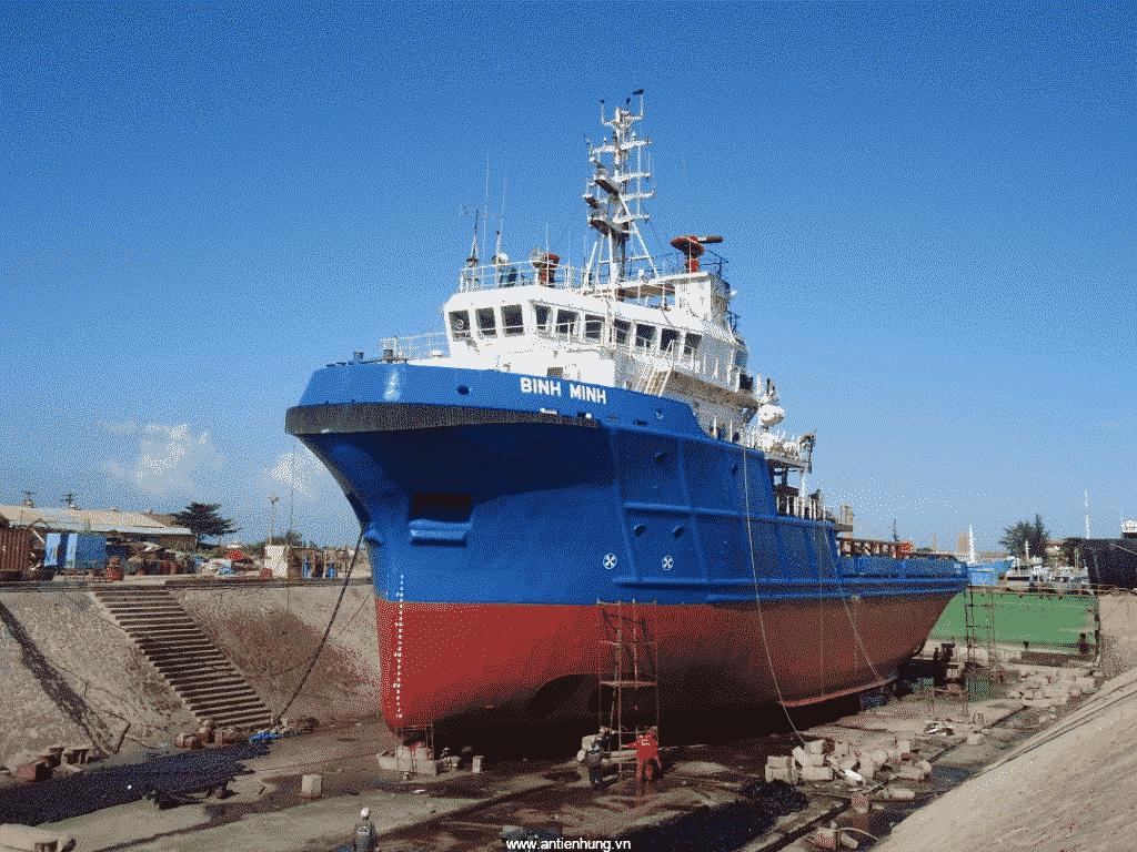 Tàu thủy rất cần được sử dụng sơn chống rỉ
