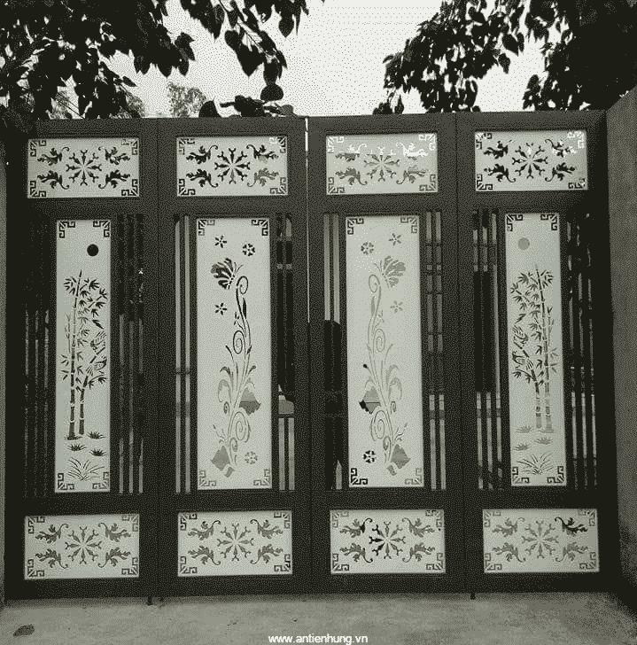 Cánh cửa nghệ thuật đẹp nhờ sơn JOTAMASTIC 80 (20 LÍT)